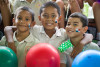 niños disfrutando actividad