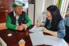 Firma de la resolución 369 de Samaná en apoyo a la Madre Tierra