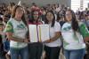 Entrega de la Proclama emitida por el Municipio de Coamo