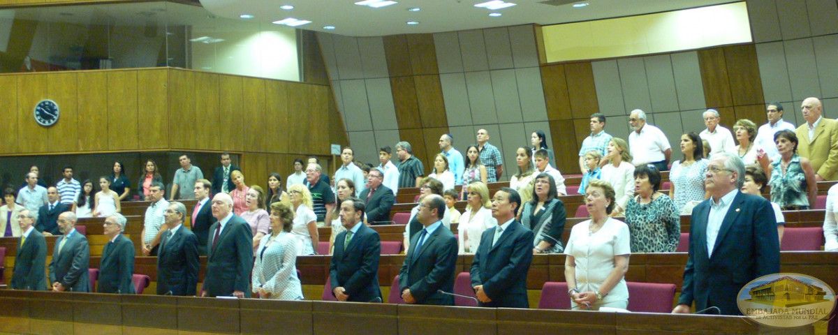 senadores paraguay