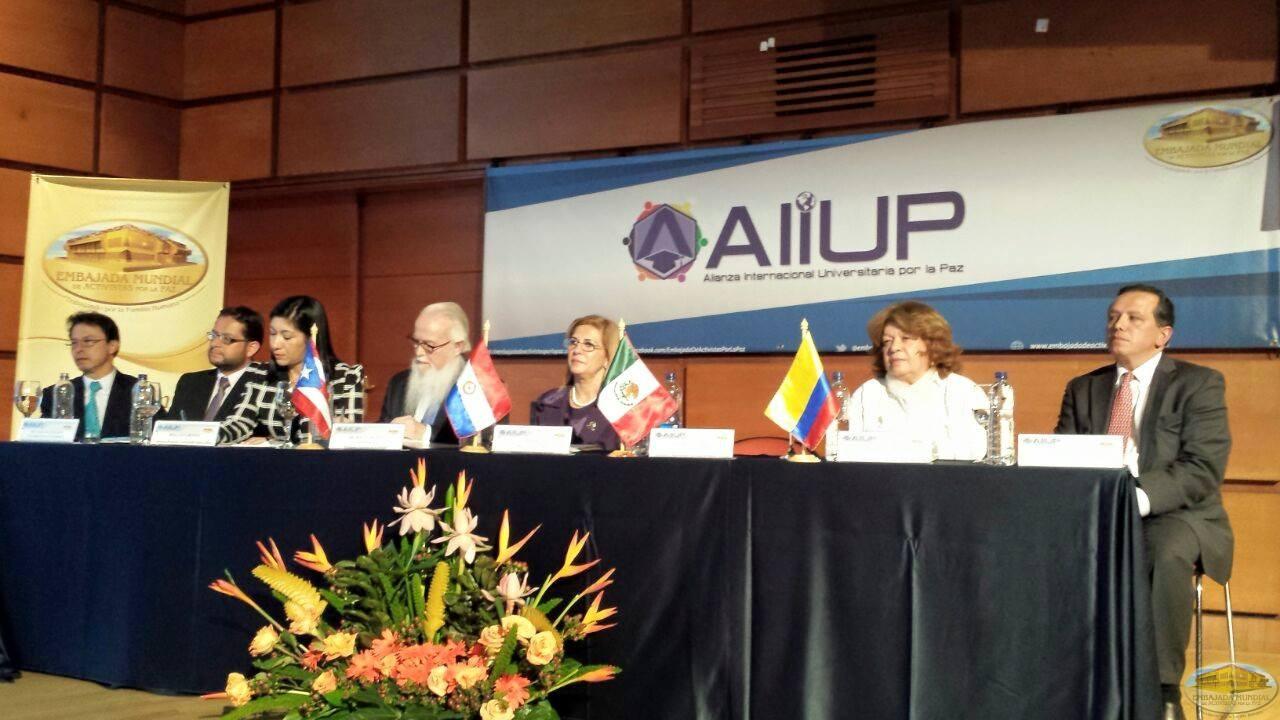 UNIVERSIDADES DE COLOMBIA SE UNEN A LA ALIANZA INTERNACIONAL UNIVERSITARIA POR LA PAZ