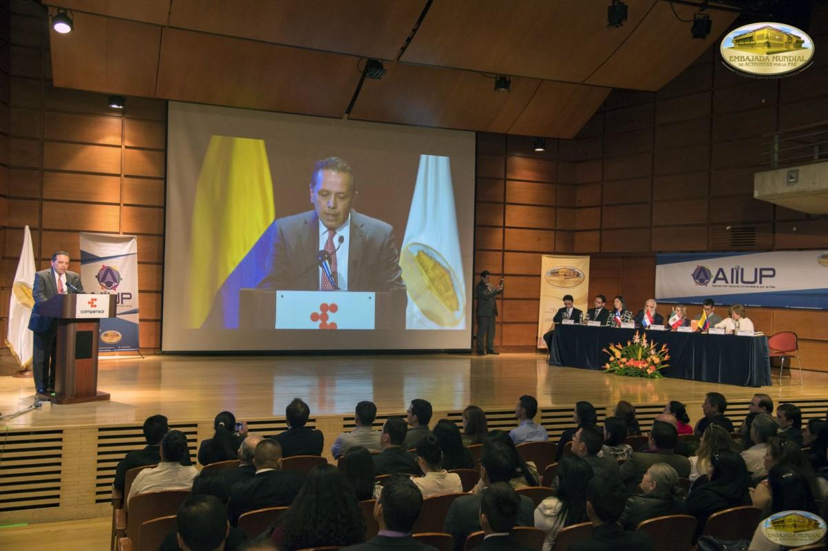 Palabras en apertura, II Seminario Internacional ALIUP - Iván Sarmiento Muñoz