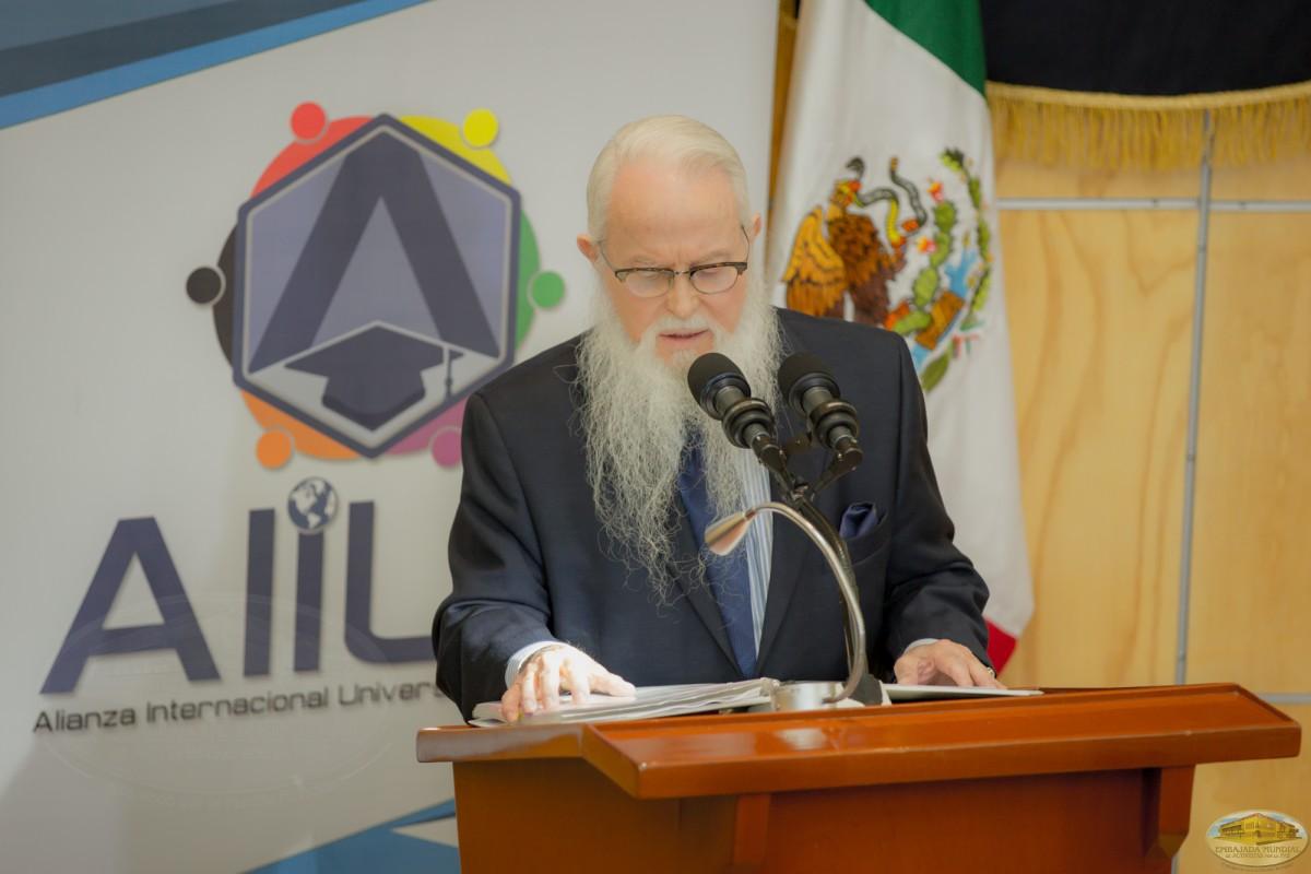 Dr. William Soto   La Contribución de la Cátedra para la Paz en el proceso Formativo del Ser Humano.