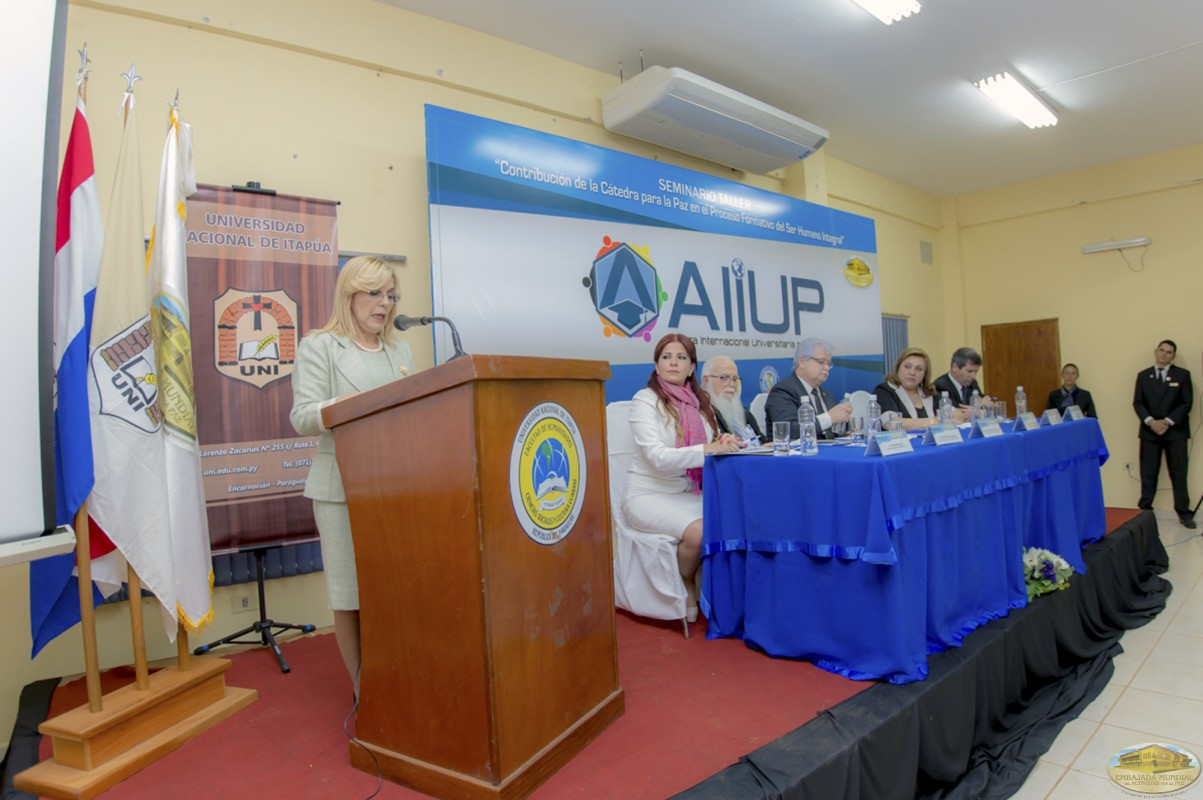 Hermelinda Alvarenga | Primer Seminario Taller de la ALIUP - Paraguay
