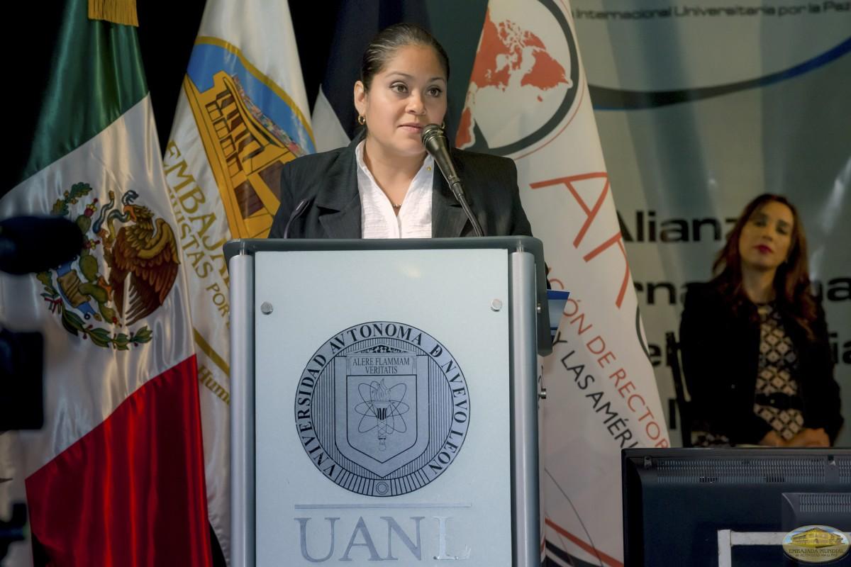 Carla Oyuki Rubio   Firmas de Convenios ALIUP y Universidades en México