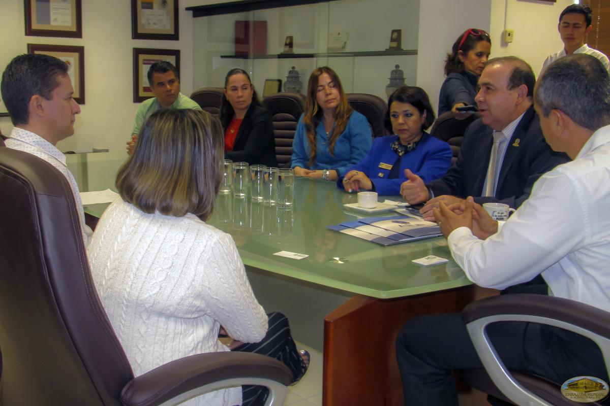 La EMAP realiza una alianza con la Universidad Tecnológica de Cancún.