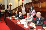 """Presentación del proyecto """"Huellas para No Olvidar"""" en el Congreso de la República del Perú"""