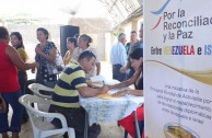The collection of signatures successfully continued in Venezuela for peace and reconciliation.