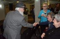 Event with Holocaust Survivors at the Bethel Synagogue, Mexico