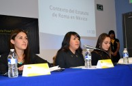 """First forum of discussion """"University Forums in the Judicial Field, genocide and other crimes jurisdiction of the International Criminal Court """", Mexico"""