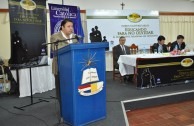 """First Forum """"The Holocaust, paradigm of genocide"""" at the Catholic University of Paraguay"""
