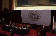 Apertura del Segundo Foro Judicial Internacional en Buenos Aires, Argentina