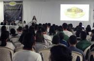 Forum at the Esteban Ochoa Educational Institution- Itagui, Antioquia.