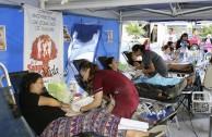 619 unidades de sangre para la salud de la población en Chile