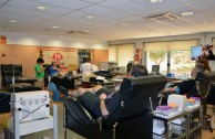 Spain: The 5th International Blood Drive Marathon expressed love for the human family by giving the Sap of Life