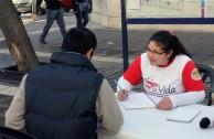 Mendoza, Argentina is present during the 5th International Blood Drive Marathon