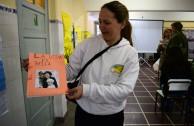 Foro en la Escuela Orzati Olavarria Argentina