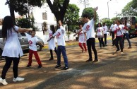 Jornada de Donación de Sangre en la ciudad de Ñemby, Paraguay
