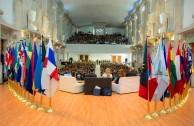 La EMAP en cabeza de su Presidente Ejecutivo, Dr. William Soto Santiago, socializó sus proyectos y propuestas para contribuir a los objetivos y metas del Desarrollo Sostenible durante la XIV Asamblea General de la Confederación Parlamentaria de las Américas y la XIII Reunión Anual de la Red de Mujeres Parlamentarias realizadas en México.