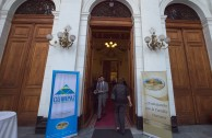 The Global Embassy of Activists for Peace is getting ready to open the Educational Session of CUMIPAZ 2015 in the former Congress of Chile.
