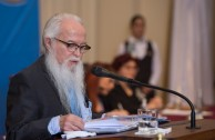 """""""Educating the heart for the development of the human"""", was the central topic of the lecture of Dr. William Soto Santiago, Global Ambassador of the GEAP and President of the Peace Integration Summit, during the Educational Session, CUMIPAZ (Chile 2015)."""
