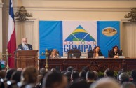 """Dr. William Soto, in his intervention during the Educational Session of CUMIPAZ, expressed that: """"The XXI century demands a change in the objectives of Higher Education, going beyond productivity and competitiveness and academic excellence. Education should, above all, promote the complete development of the human being and a harmonic integration with nature and their equals."""""""