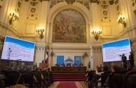"""En la tercera y última mesa de la Sesión Judicial de la CUMIPAZ se expuso el tema: """"La ONU y la Corte Penal Internacional: ¿Interacción armónica, independencia o subordinación?"""""""