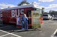 The GEAP carried out a blood drive in Lakeland, Florida