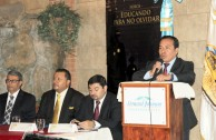 """The GEAP summons Guatemalan judges, prosecutors and lawyers in the forum """"Educating to Remember"""""""