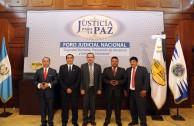 FORO JUSTICIA PARA LA PAZ