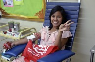 Activists for Peace in Panama continue to promote voluntary blood donation