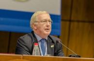 Conferencia magistral del juez Howard Morrison de Reino Unido