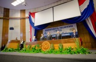 Acto de instalación Sesión Diplomática, Parlamentaria y Política CUMIPAZ 2016