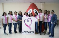 With a blood drive marathon the GEAP joined to the Global Day against Breast Cancer