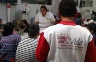 Argentinos reciben charlas de concienciación: En la Sangre está la Vida