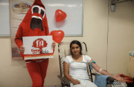 Medical students join blood drives