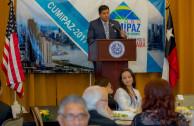 Dinner in San Antonio, Texas - Presentation of CUMIPAZ 2017