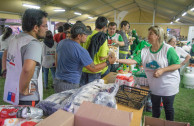 Humanitarian aid in Chile