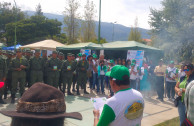 Con motivo de promover el cuidado y protección del medio ambiente la EMAP en Bolivia celebra el Día Mundial del la Madre Tierra