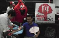 Labor solidaria que garantiza el suministro de sangre