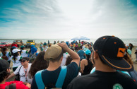 Two hundred volunteers clean the Coast of the Punta Cucharas Natural Reserve in Ponce.