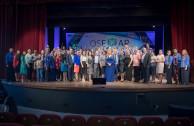 Coordinators and international attendants