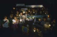 Activistas en Talca.
