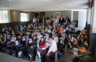 In Mexico, 1,867 students received training in human rights.