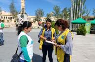 Students of the Pedagogy University of El Salvador