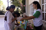 Sowing awareness in Santo Domingo on Environment Day.