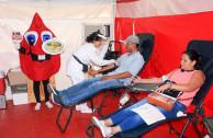 La Catedral de Palmira fue sede central de la jornada masiva de donación de sangre