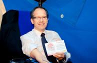 Por primera vez el representante a la Cámara Humphrey Roa, aportó 450 ml de sangre para salvar vidas.