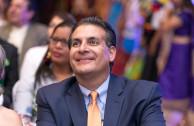 Eduardo Bhatia Gautier, president of the Parliamentary Confederation of the Americas enjoyed the concert