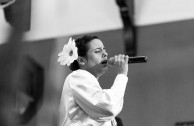Various singers from the Island of Pueto Rico participated as well as soprano, Sharon Rivera.